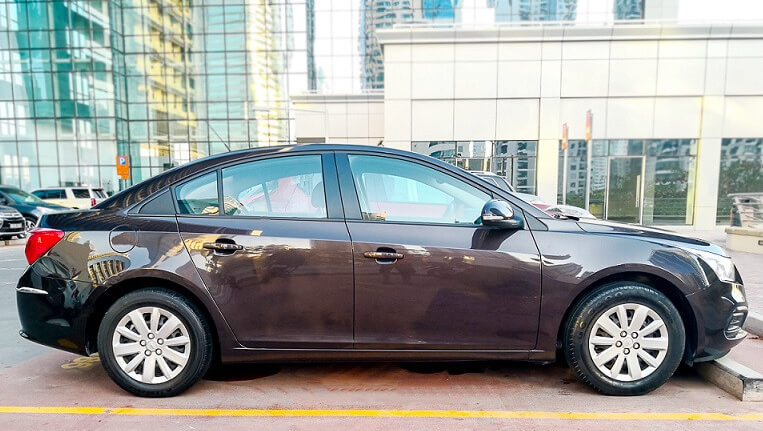 Rent a 2016 Chevrolet Cruze in Dubai full