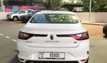 Rent a 2020 Renault Megane in Dubai full