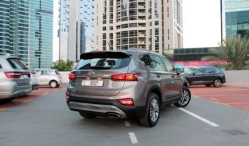 Rent a 2020 Hyundai Santa Fe in Dubai full