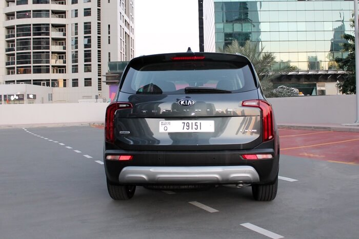 Rent a 2020 Kia Telluride in Dubai full